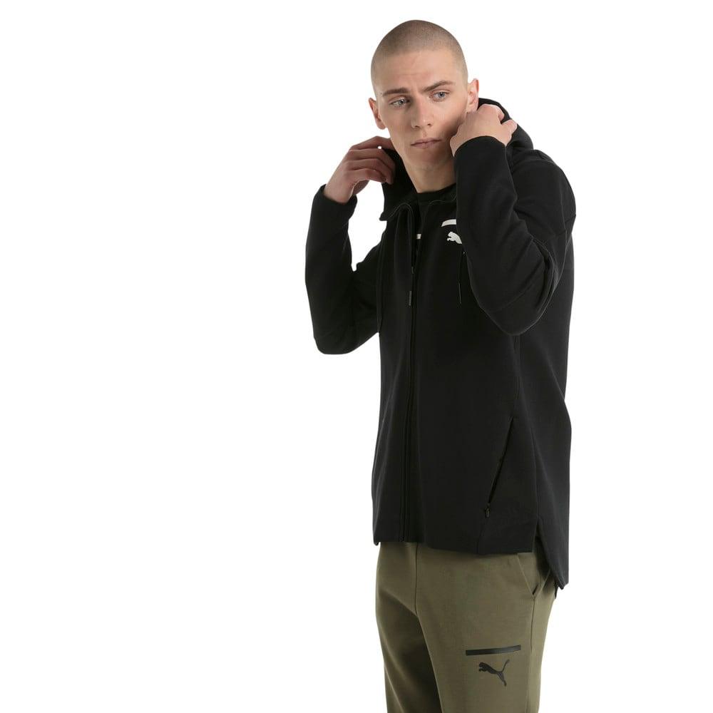 Görüntü Puma EVOLUTION Core Fermuarlı Kapüşonlu Erkek Sweatshirt #2