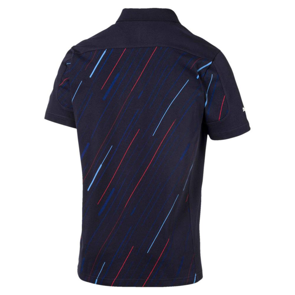 Görüntü Puma BMW Motorsport Baskılı Erkek Polo T-shirt #2