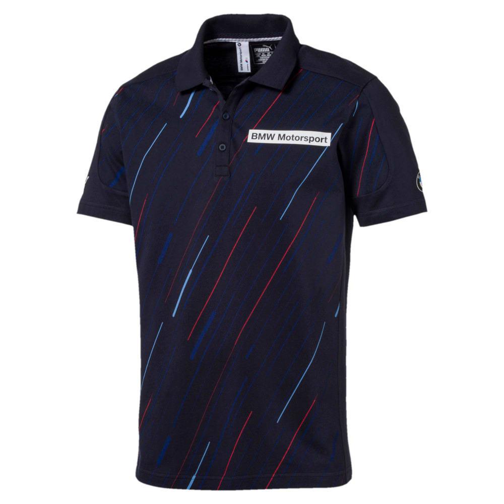 Görüntü Puma BMW Motorsport Baskılı Erkek Polo T-shirt #1