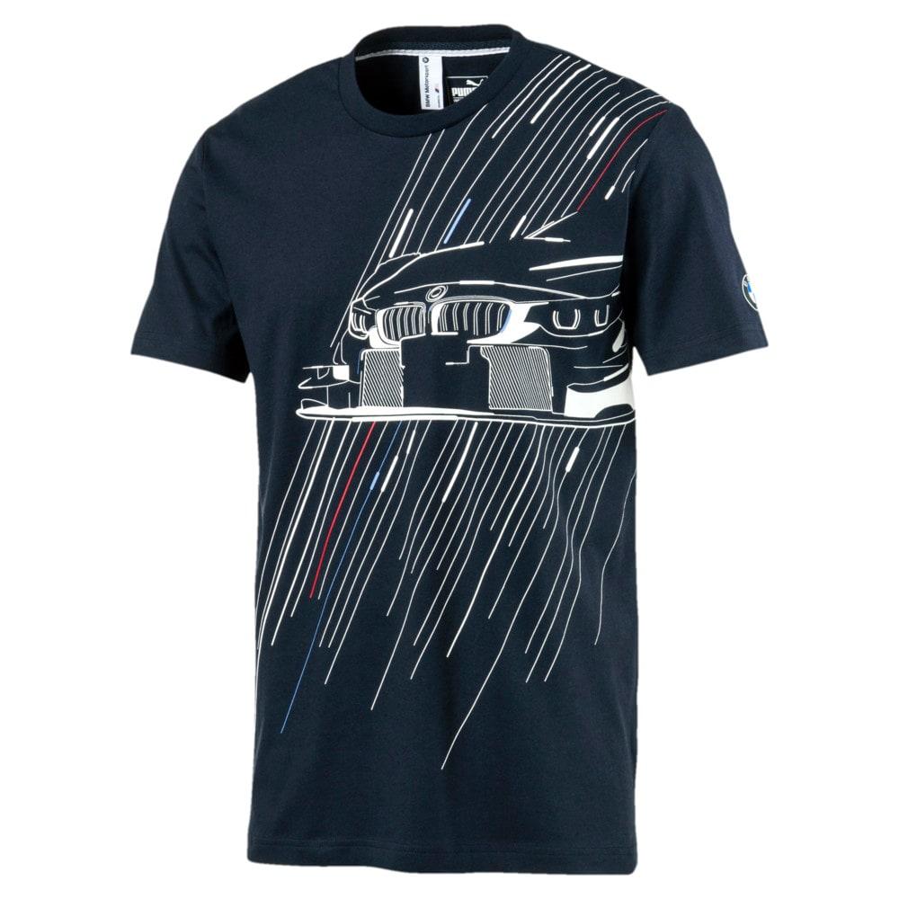 Görüntü Puma BMW Motorsport Baskılı Erkek T-shirt #1