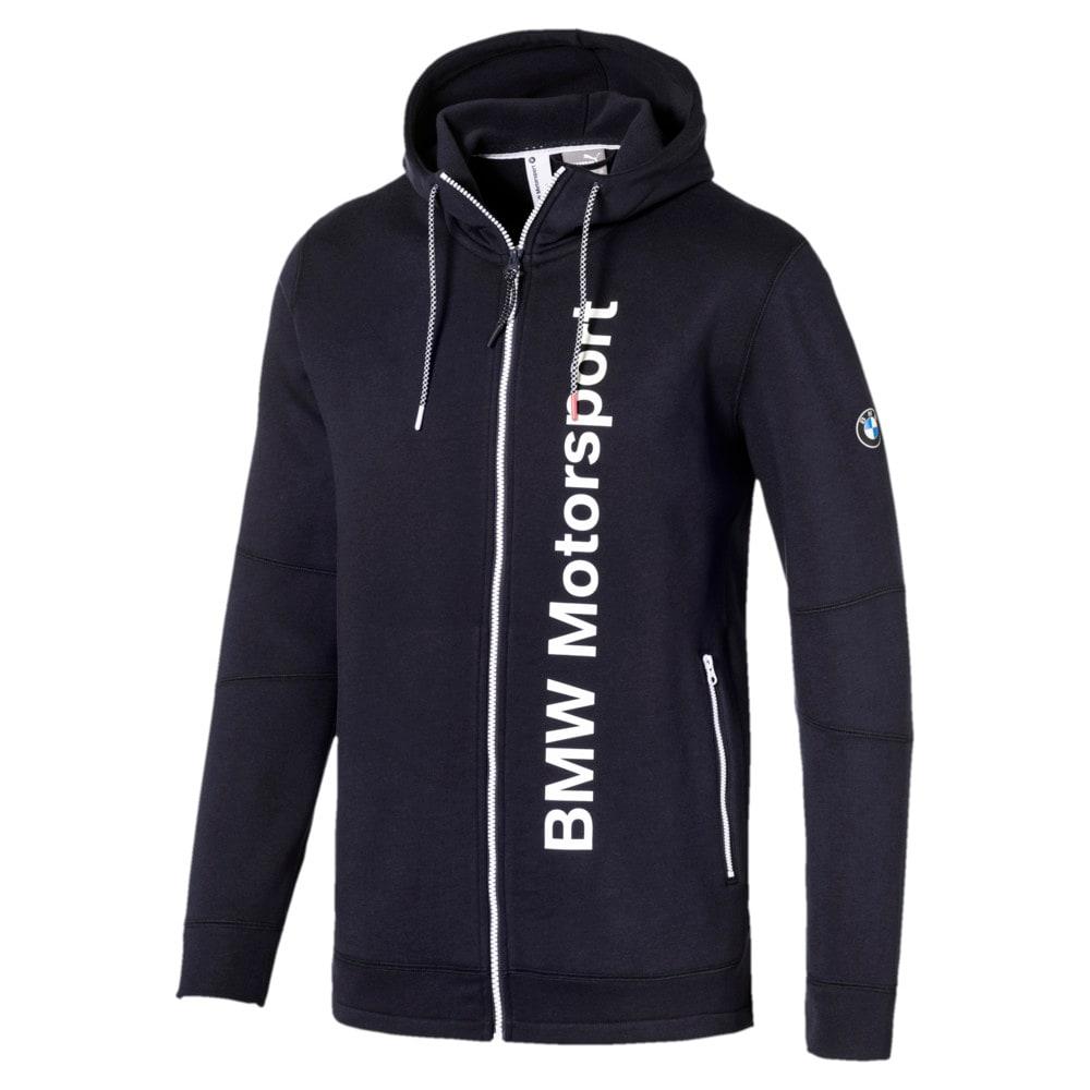Görüntü Puma BMW Motorsport Kapüşonlu Erkek Sweatshirt #1