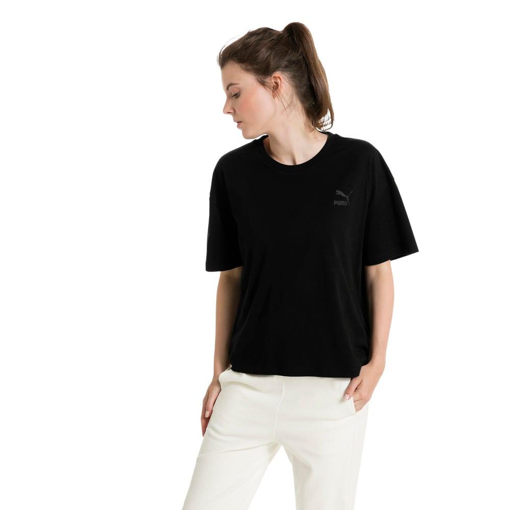 Görüntü Puma CLASSICS ARCHIVE Logo Kadın Kısa T-shirt #2