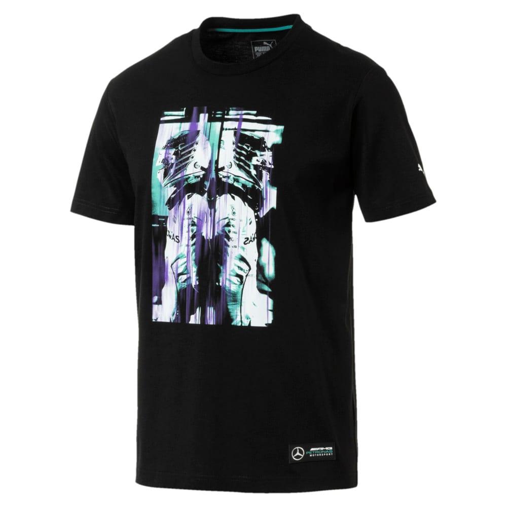 Görüntü Puma MERCEDES AMG PETRONAS HAMILTON GRAPHIC Erkek T-Shirt #1