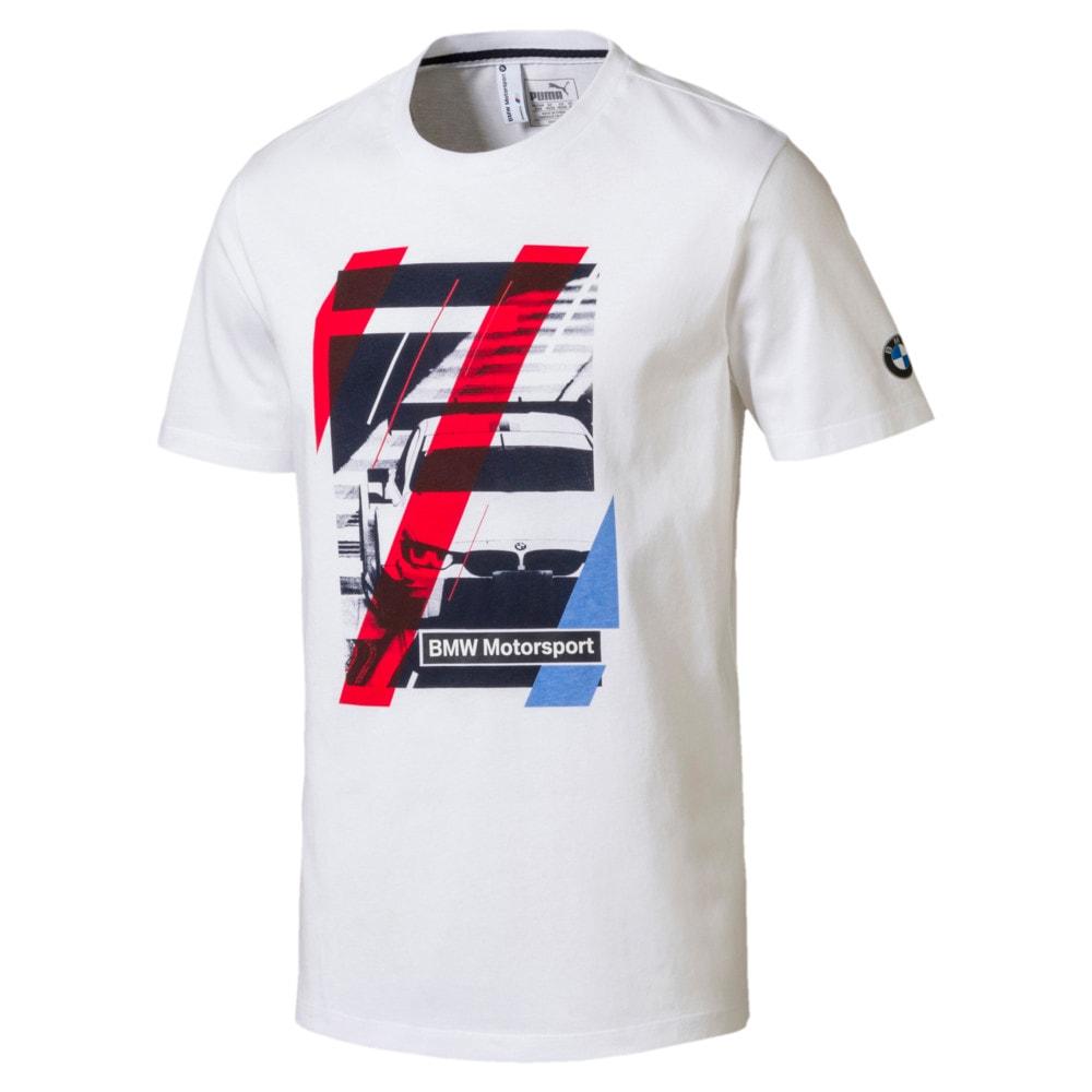 Görüntü Puma BMW Motorsport GRAPHIC Erkek T-Shirt #1