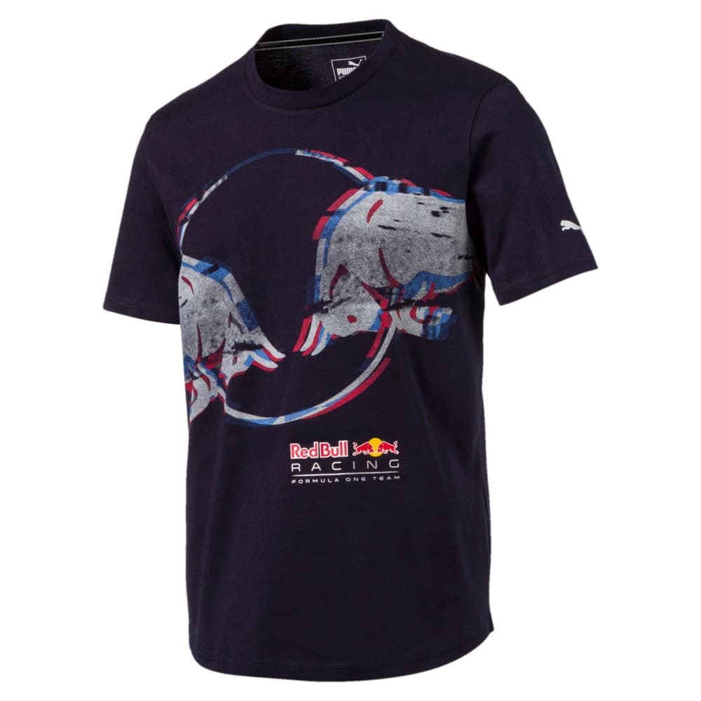 Görüntü Puma Red Bull RACING Double Bull Erkek T-Shirt #1