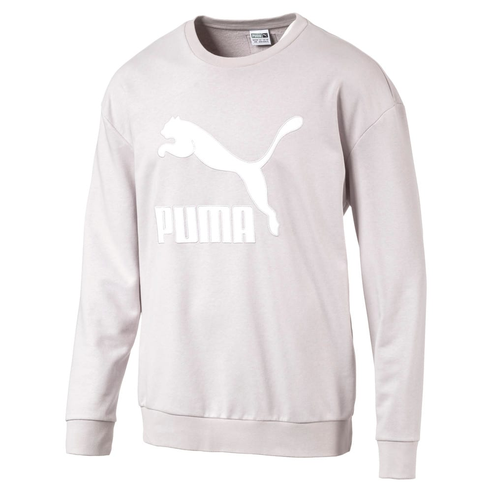 Görüntü Puma EVOLUTION ARCHIVE Logo Erkek Sweatshirt #1