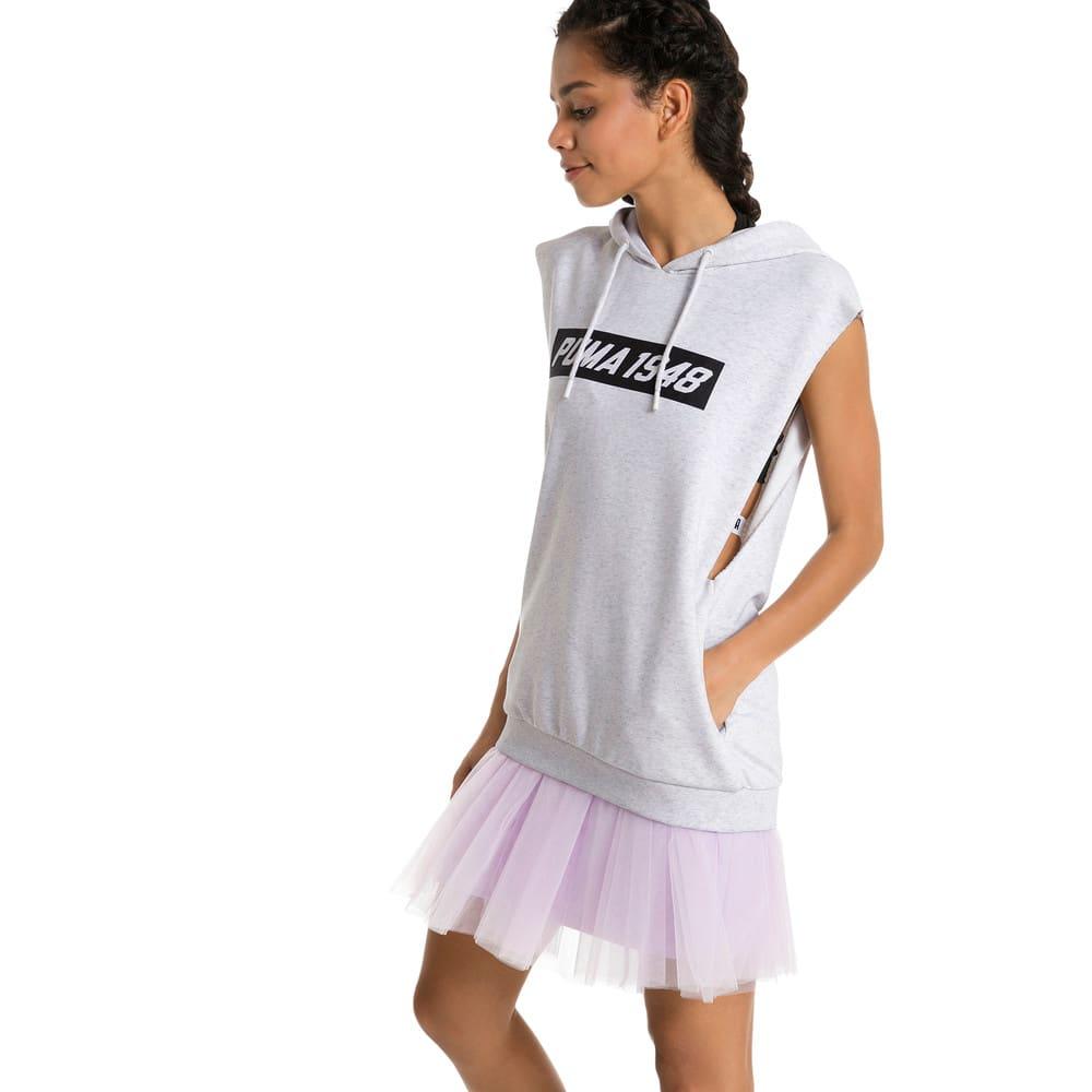 Görüntü Puma PUMA Kapüşonlu Kolsuz Kadın Sweatshirt #2
