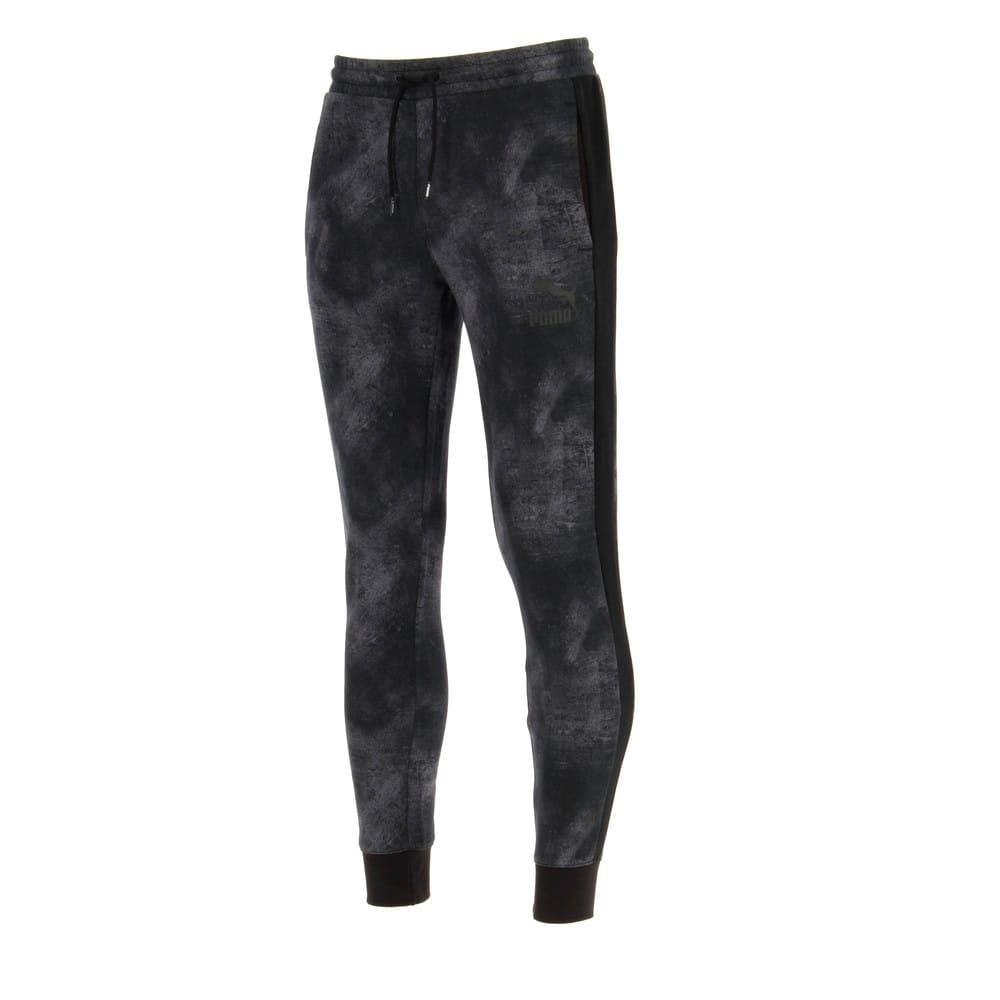 Imagen PUMA Pantalones deportivos con motivo gráfico Classics T7 para hombre #1