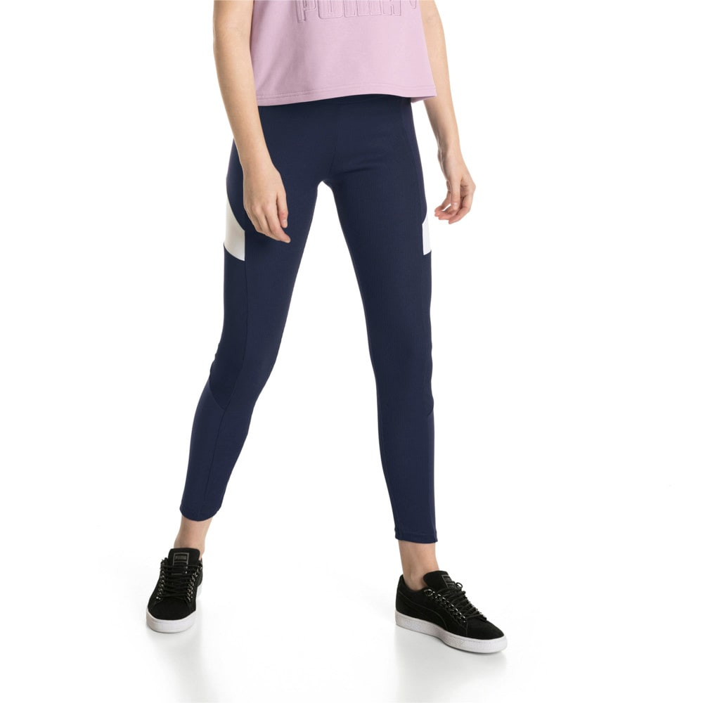 Imagen PUMA Leggings Retro Rib para mujer #1