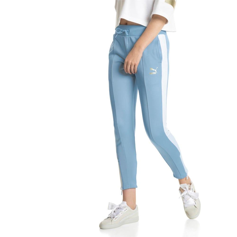 Imagen PUMA Pantalones deportivos retro para mujer #1