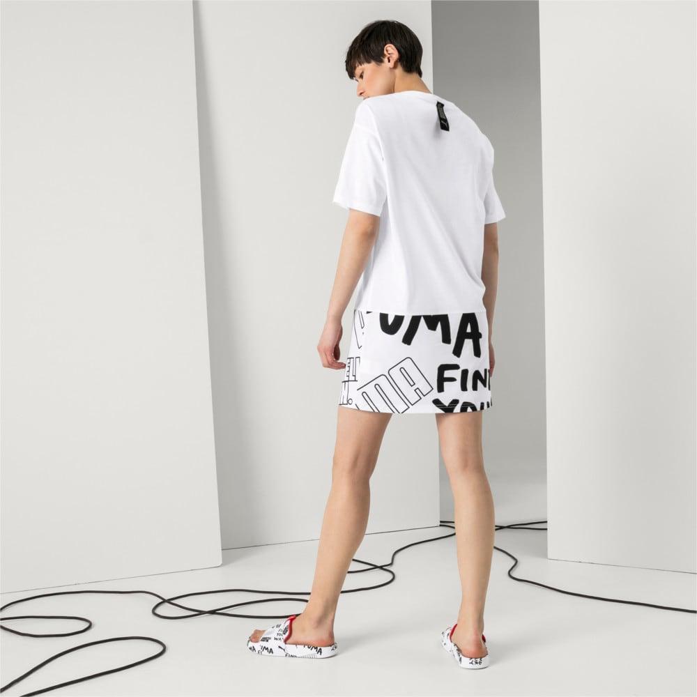 Imagen PUMA Vestido de mangas cortas PUMA x SHANTELL MARTIN para mujer #1