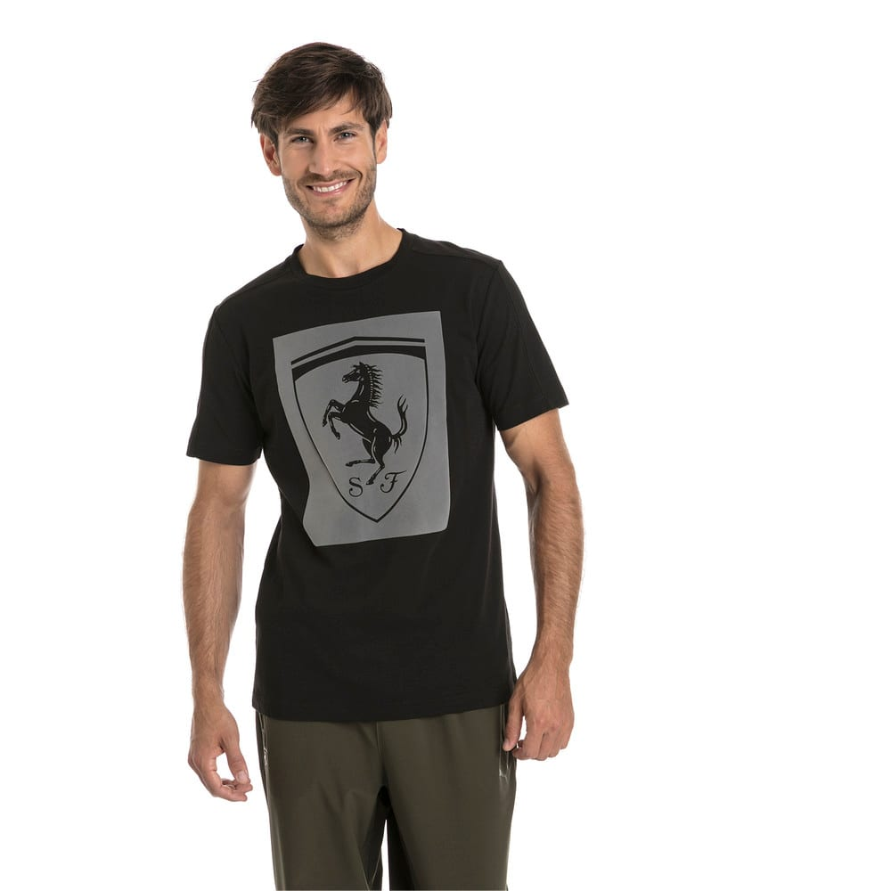 Görüntü Puma SCUDERIA FERRARI BIG SHIELD Erkek T-shirt #1