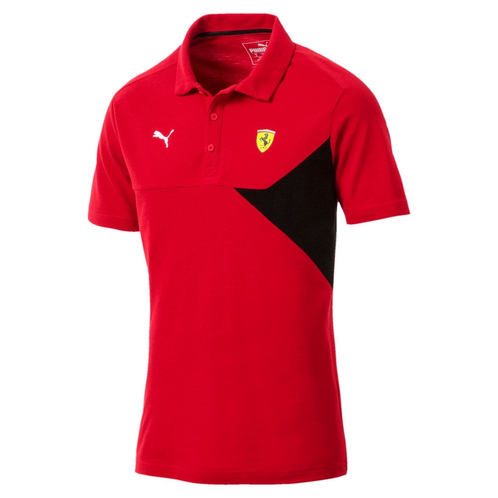 Imagen PUMA Polera polo para hombre Ferrari #1