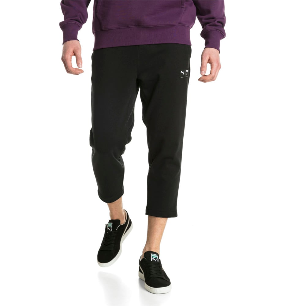Imagen PUMA Pantalones deportivos recortados para hombre Downtown #1
