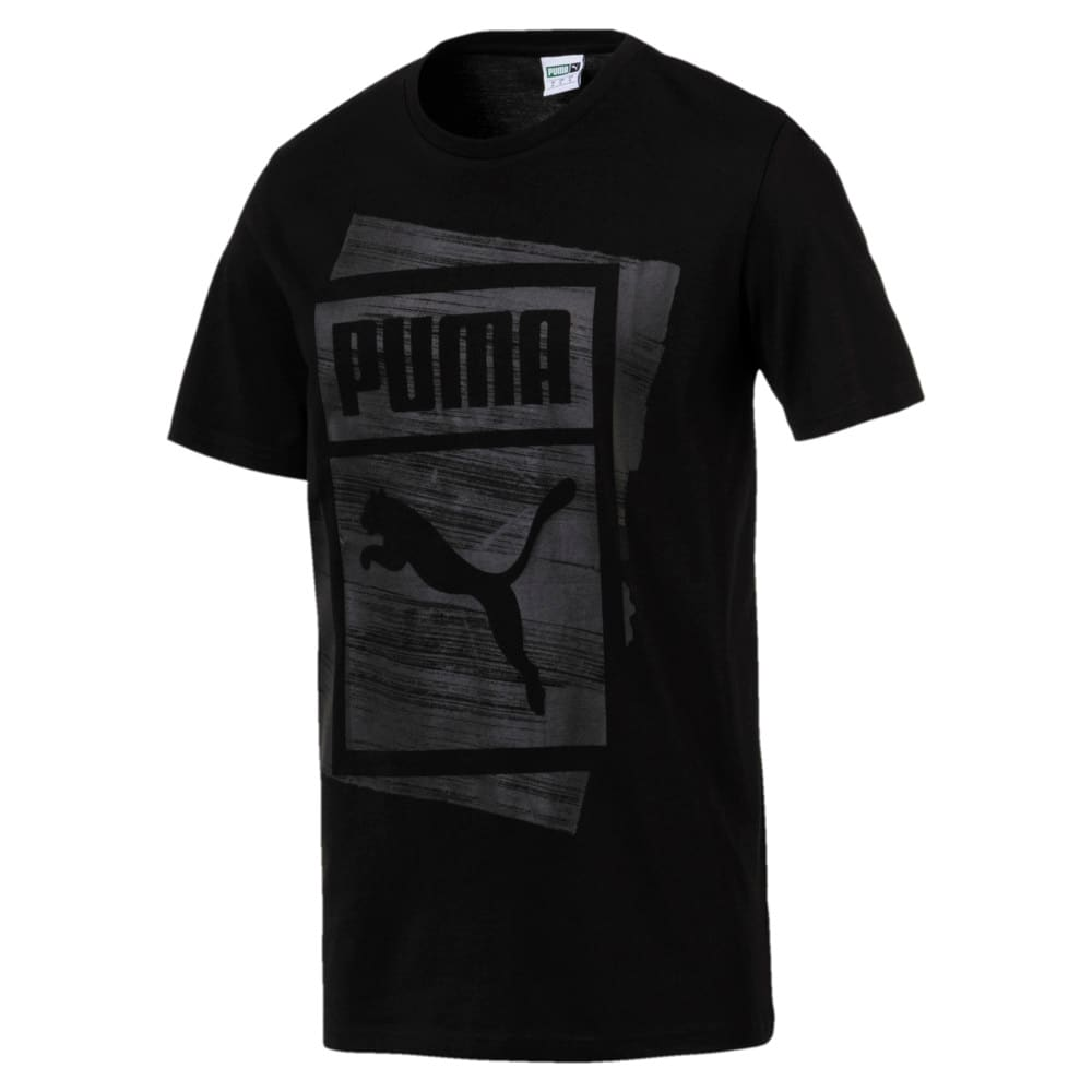 Imagen PUMA Polera Graphic Brand Box #1