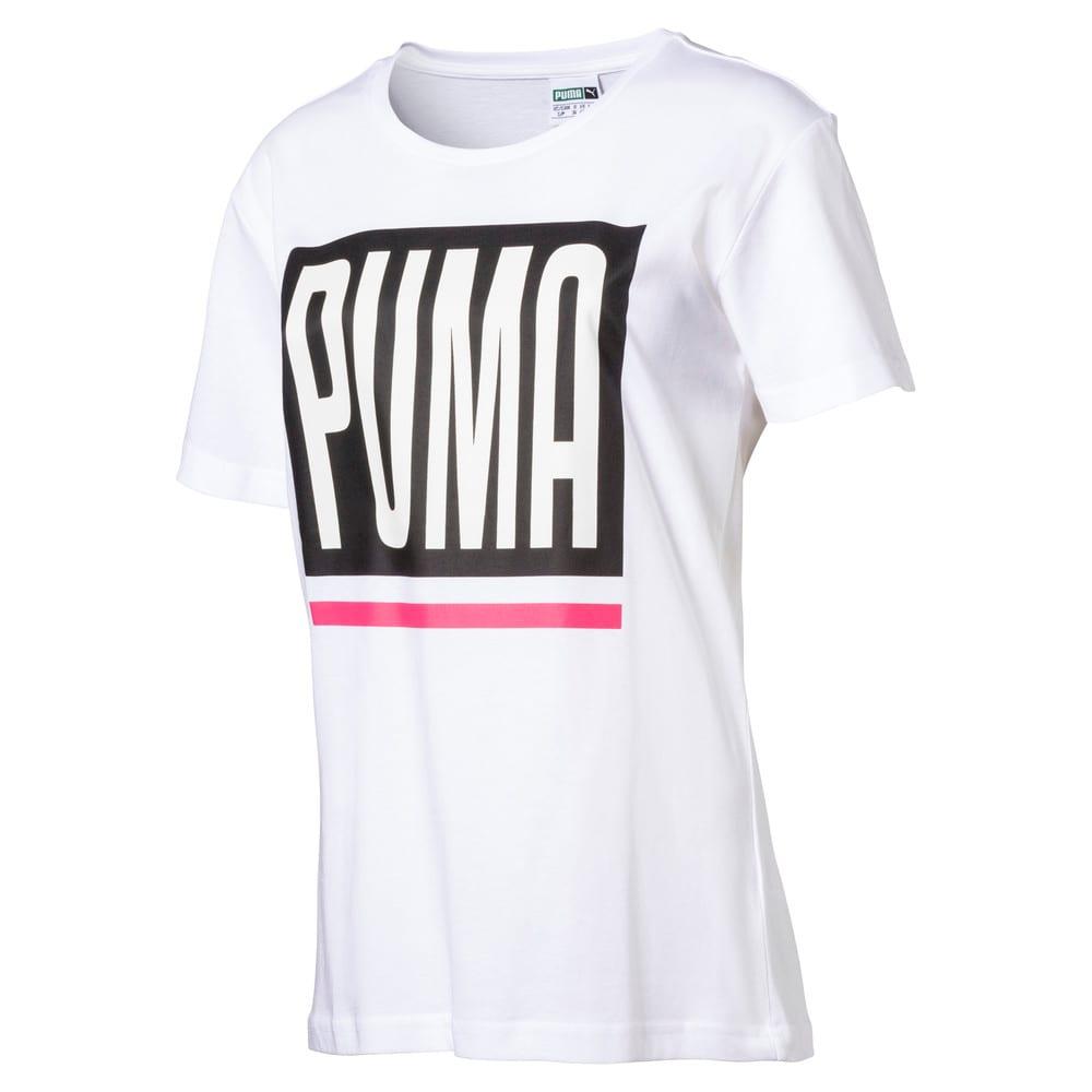 Görüntü Puma EVOLUTION Logo Kadın T-Shirt #1