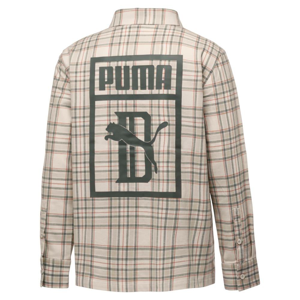 Imagen PUMA Camisa a cuadros de mangas largas para hombre PUMA x BIG SEAN #2