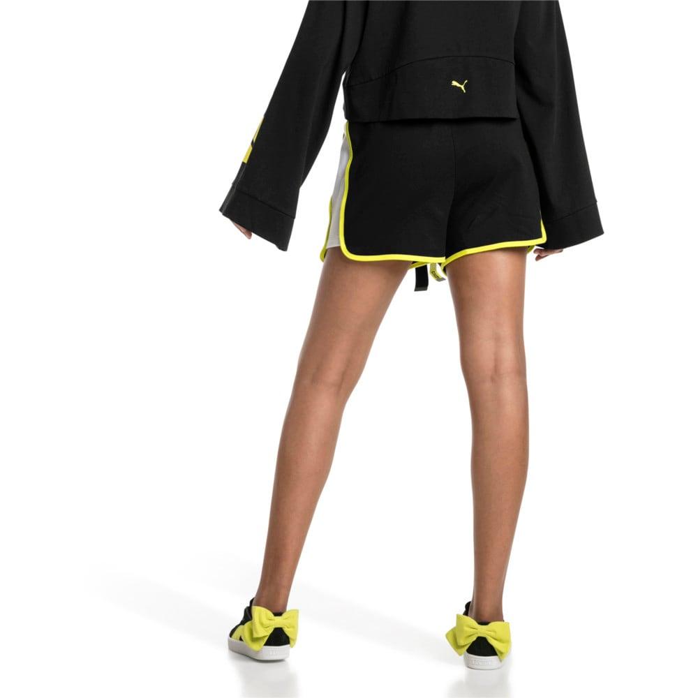 Imagen PUMA Shorts de cintura alta con cordones Archive Xtreme para mujer #2