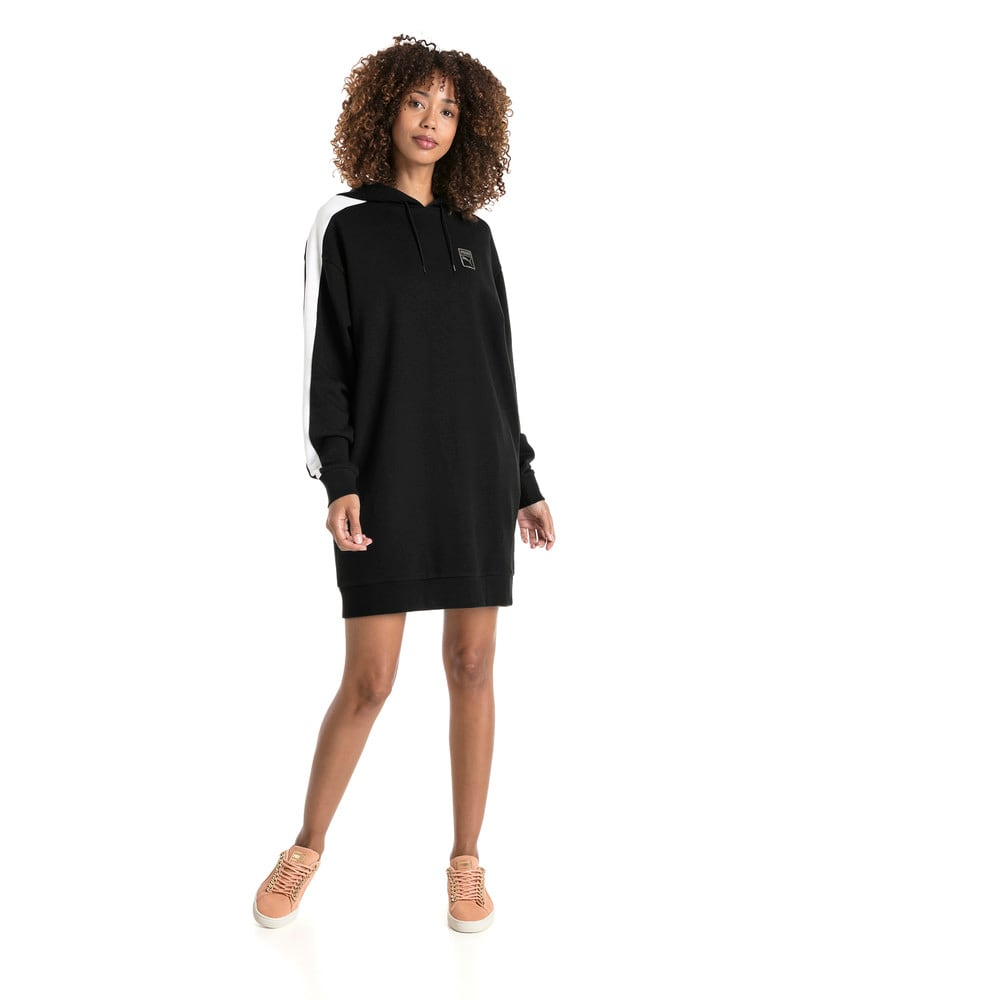 Görüntü Puma T7 CHAINS Kapüşonlu Kadın Elbise #2