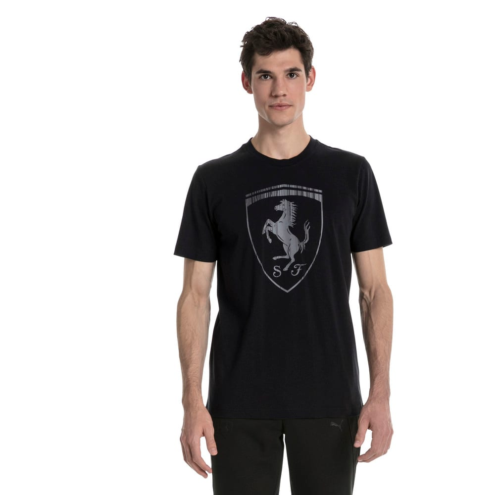 Görüntü Puma FERRARI BIG SHIELD Erkek T-Shirt #2
