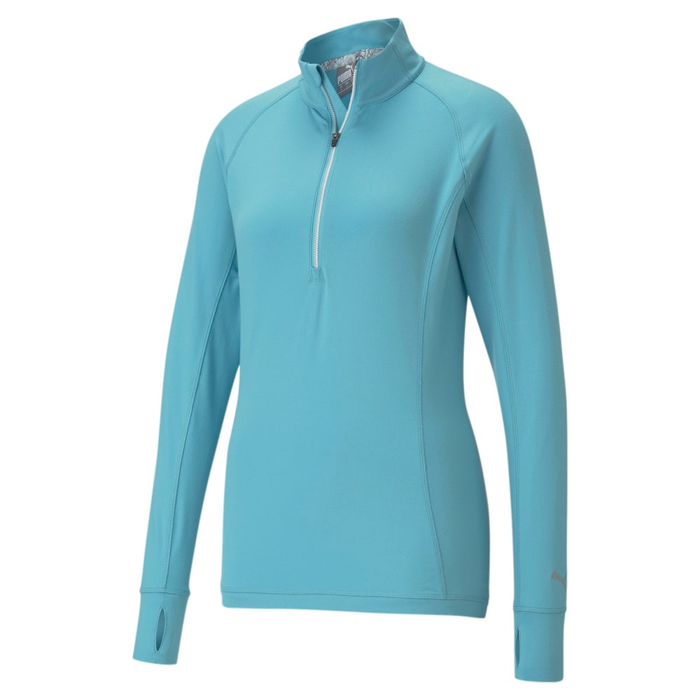 Image Puma Rotation Quarter-Zip Women's Golf Pullover #1