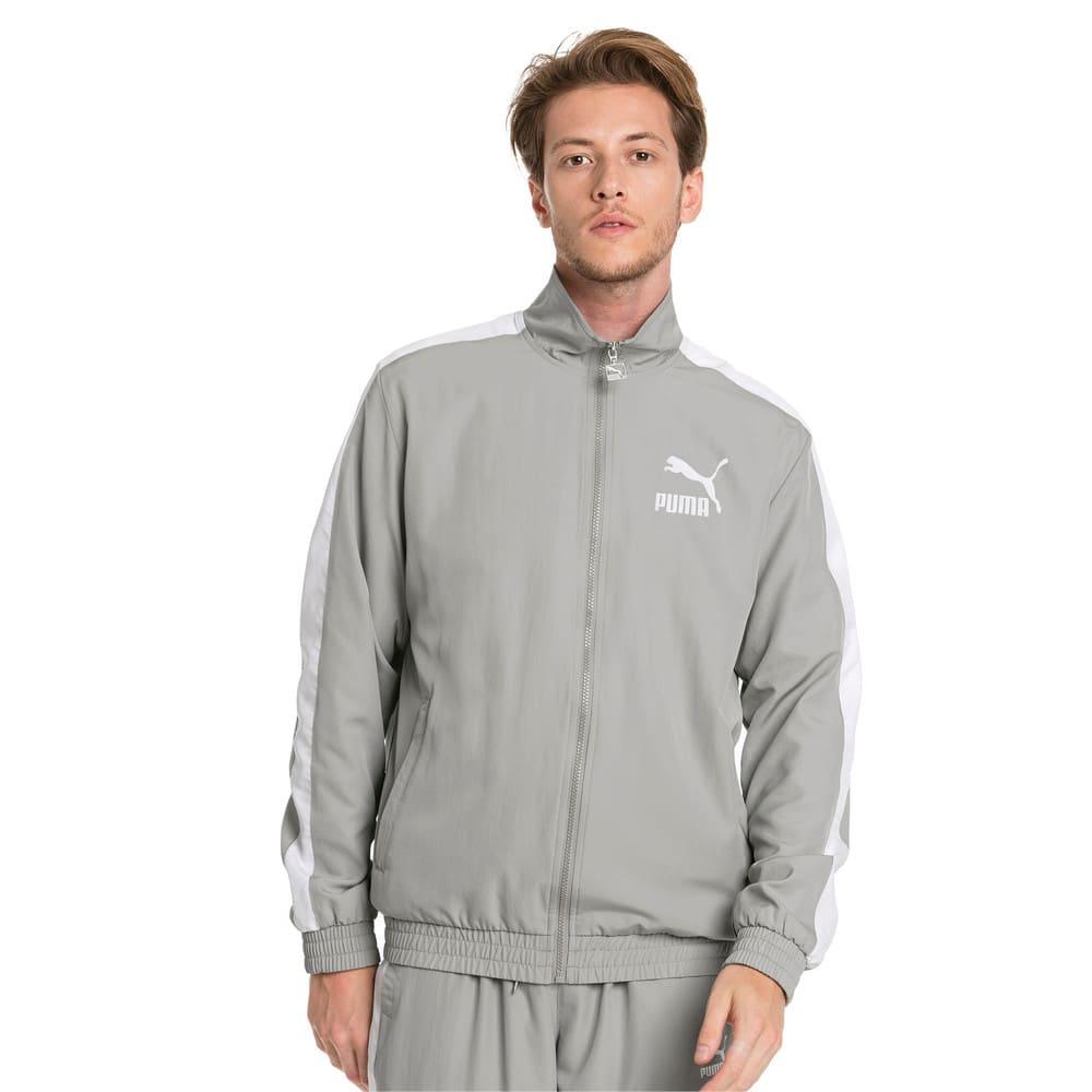 Изображение Puma Олимпийка Iconic T7 Track Jacket Woven #1: Limestone