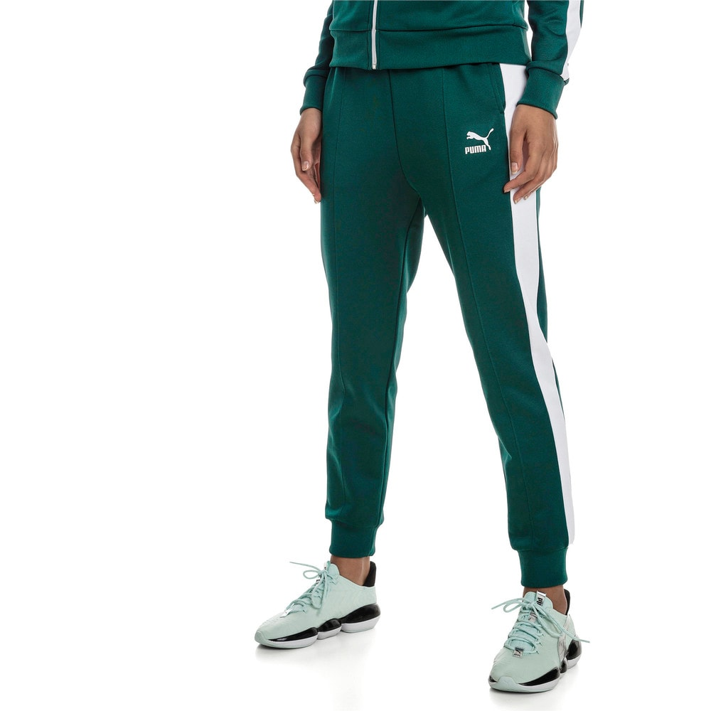 Imagen PUMA Pantalones deportivos de tejido de punto Classics T7 para mujer #1