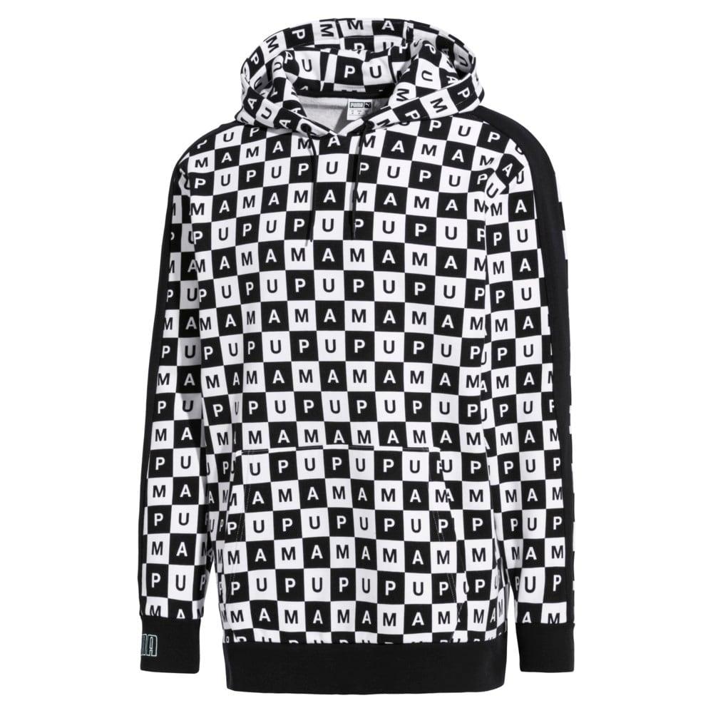 Imagen PUMA Checkboard T7 Hoodie #1