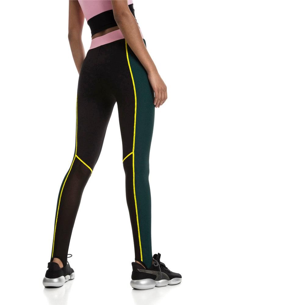 Imagen PUMA Calzas con cintura alta y estribos TZ para mujer #2