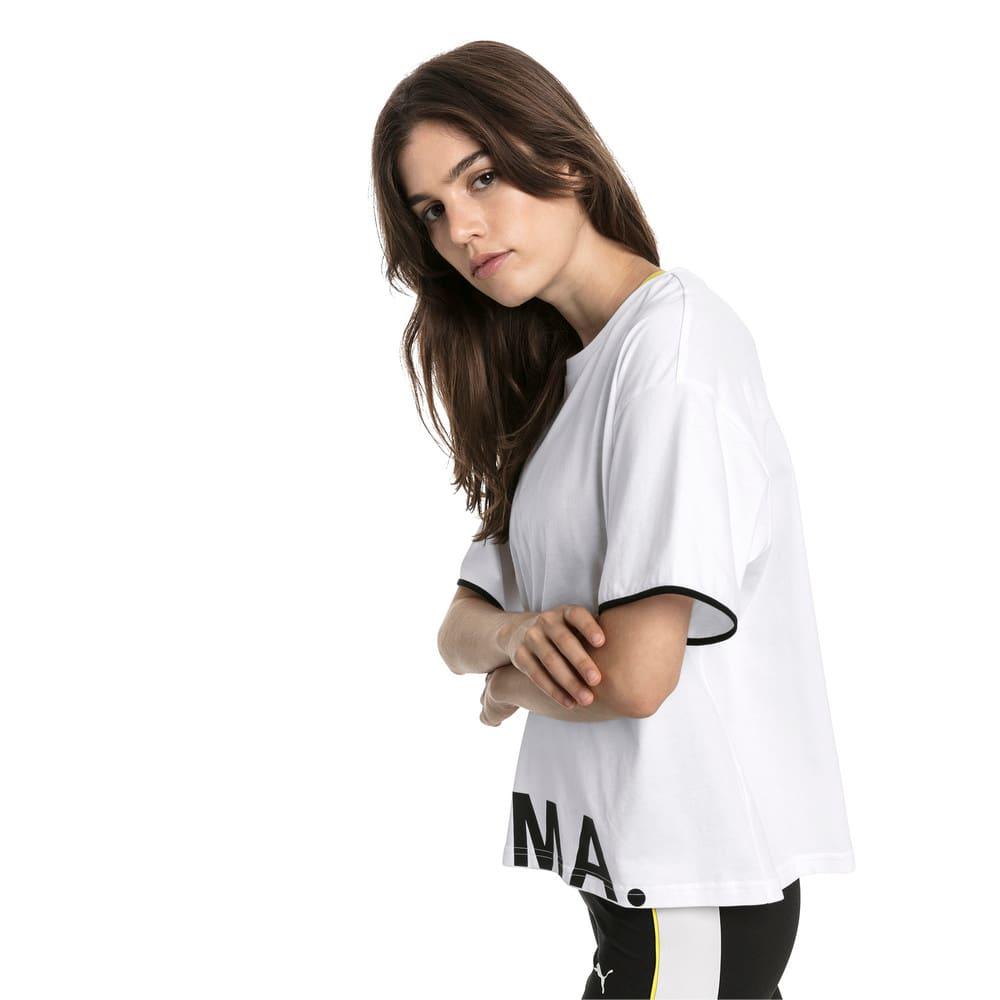 Imagen PUMA Polera de algodón Chase para mujer #1