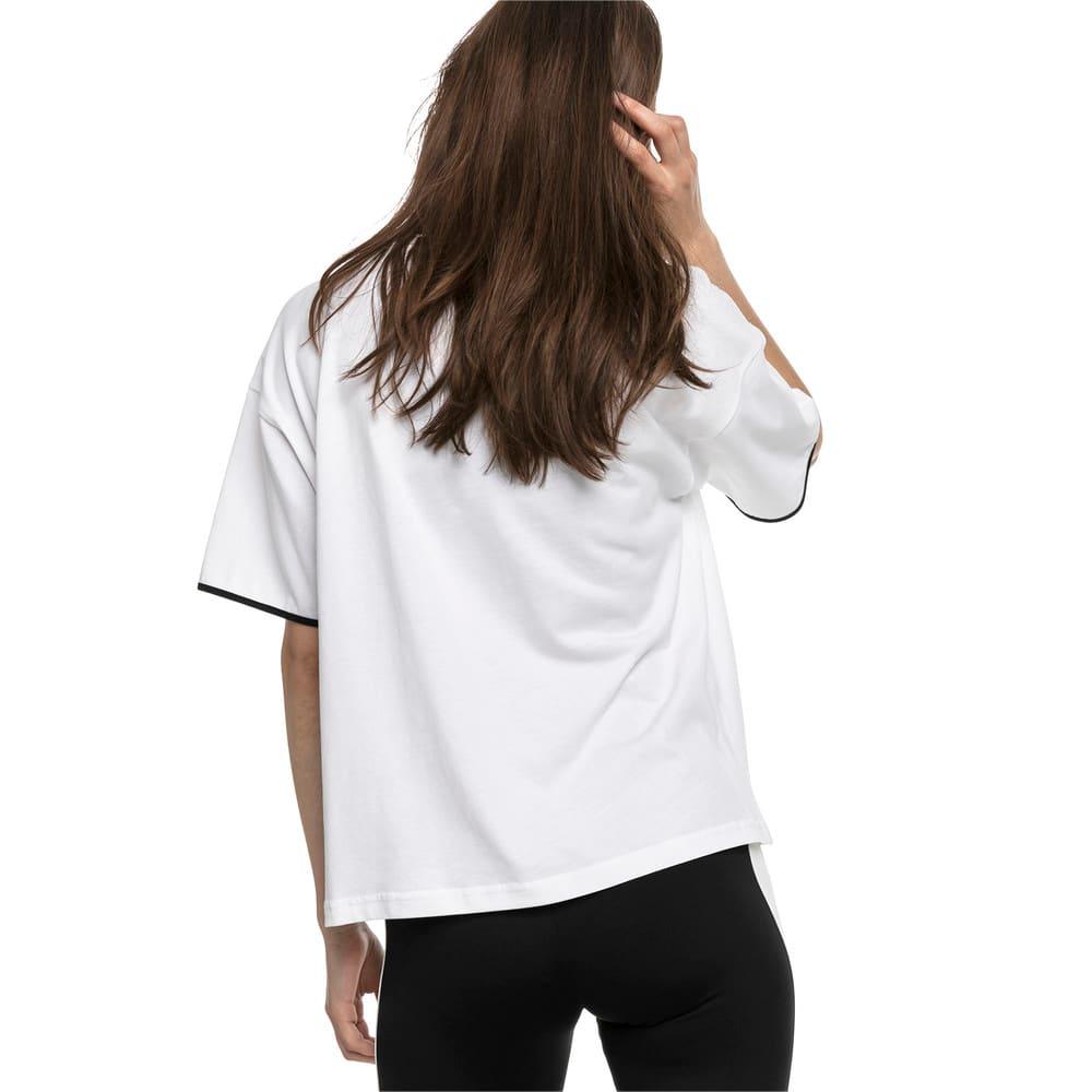 Imagen PUMA Polera de algodón Chase para mujer #2