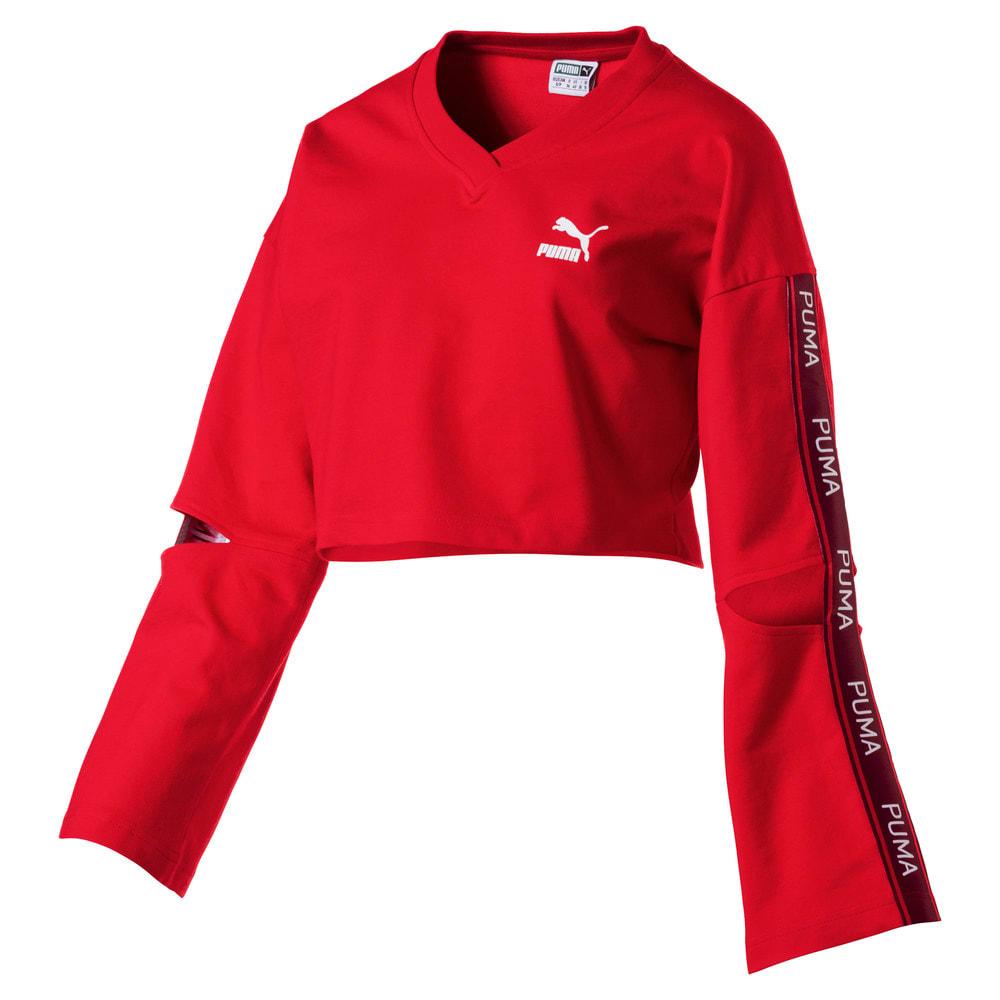 Görüntü Puma EVOLUTION V-Yaka Kadın Sweatshirt #1