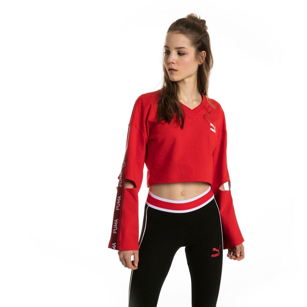 Görüntü Puma EVOLUTION V-Yaka Kadın Sweatshirt #2