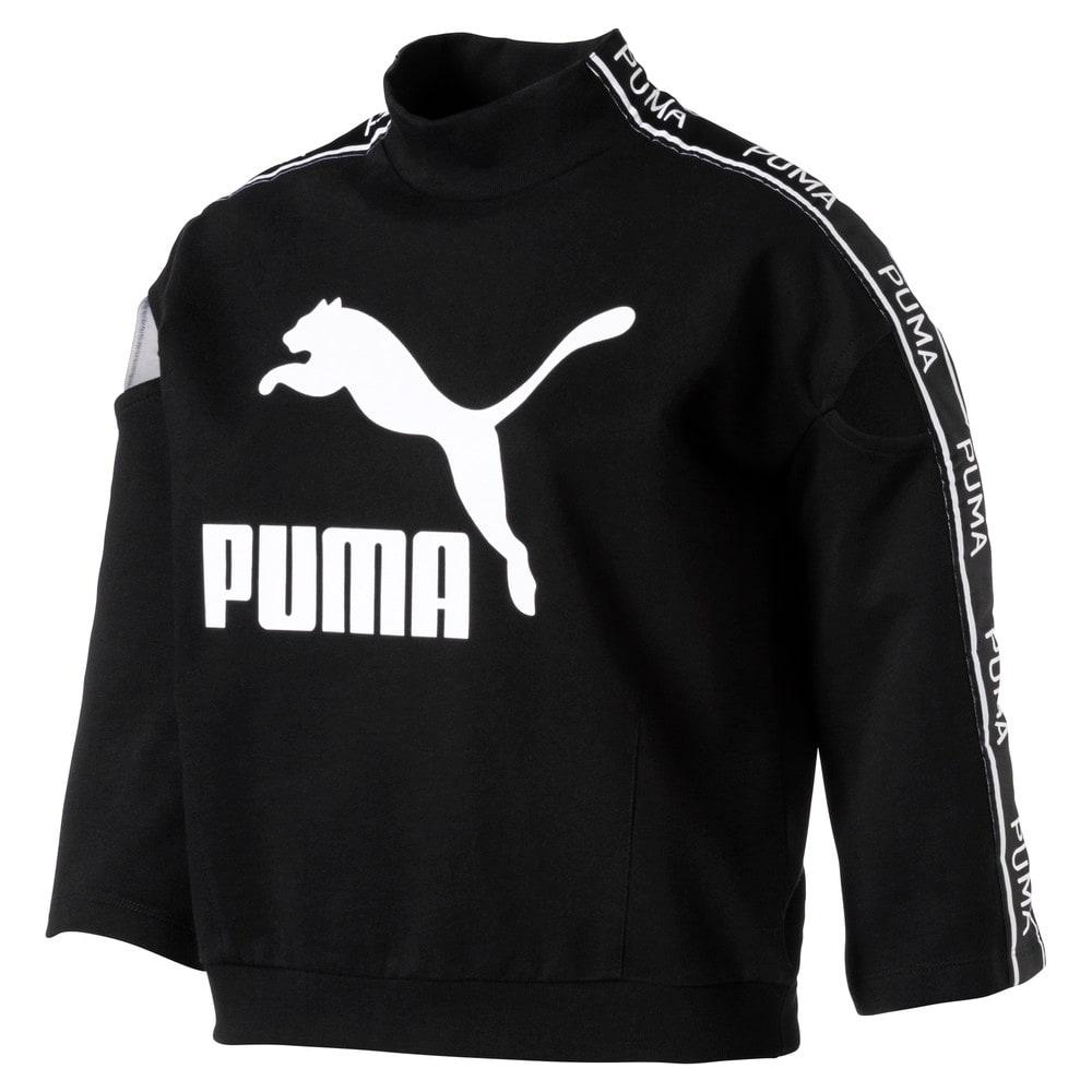 Görüntü Puma EVOLUTION Kısa Kollu Kadın Sweatshirt #1