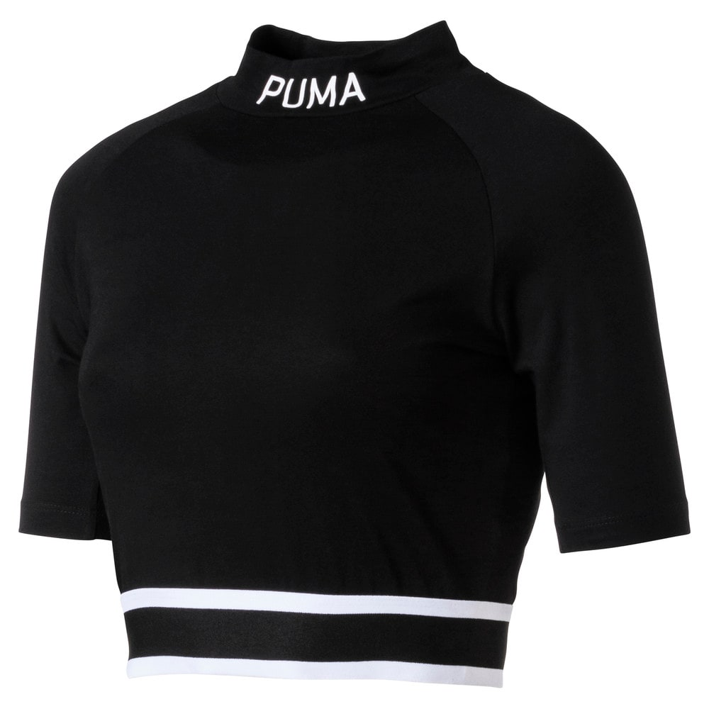 Görüntü Puma EVOLUTION Kısa Kesim Boğazlı T-Shirt #1