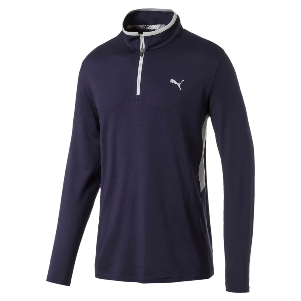 Image Puma Rotation Quarter Zip Men's Golf Pullover #1
