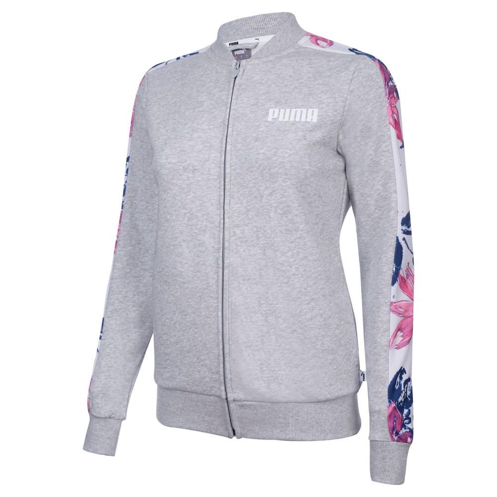Изображение Puma Олимпийка AOP FZ Jacket TR W #1