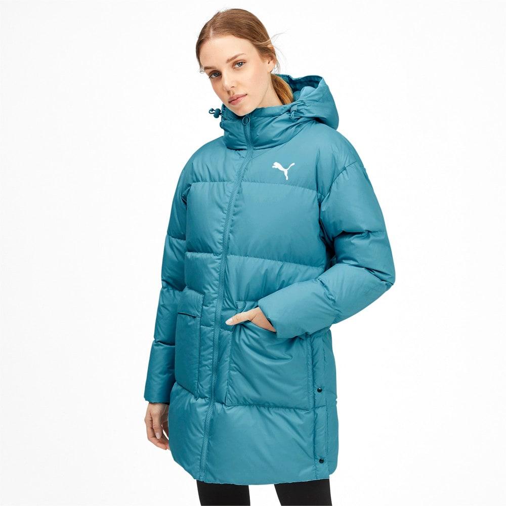 Изображение Puma Куртка 450 Long Hooded Down Coat #1