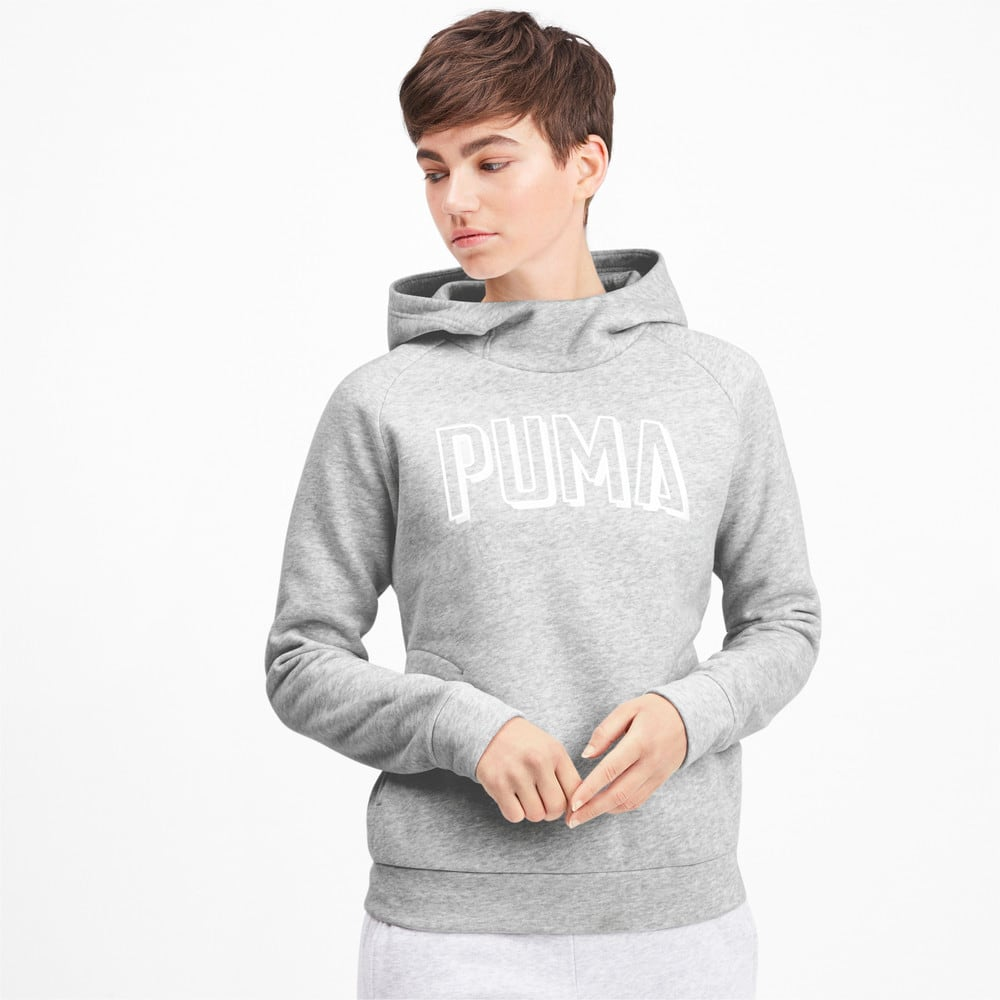 Изображение Puma Толстовка Athletics Hoody FL #1: light gray heather