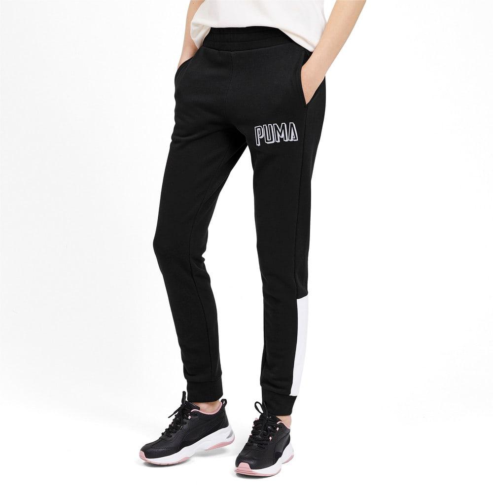 Изображение Puma Штаны Athletics Pants TR #1: Puma Black