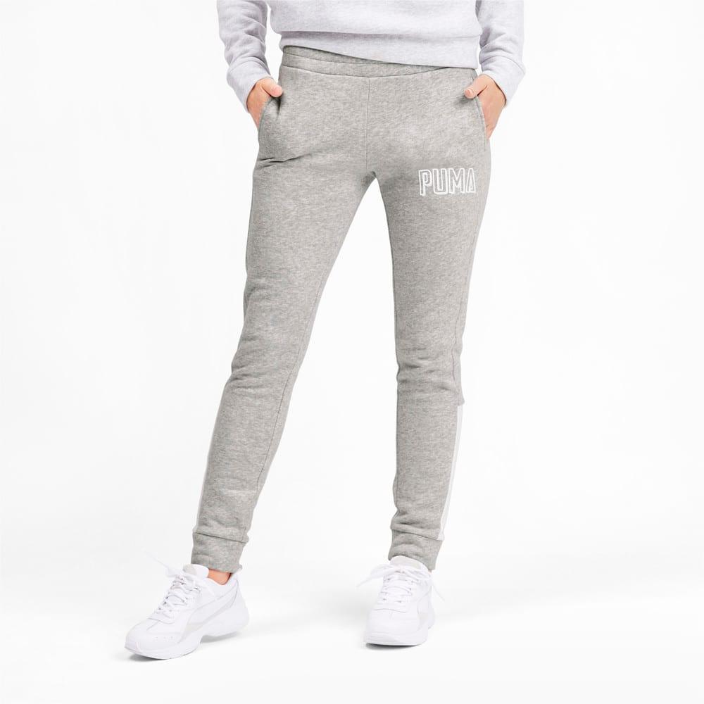 Изображение Puma Штаны Athletics Pants FL #1: light gray heather