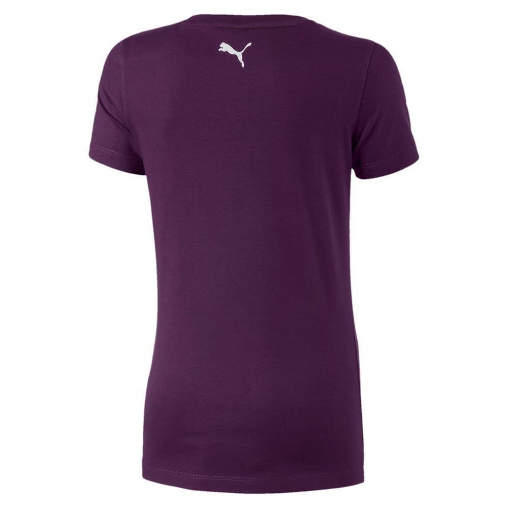 Image Puma Alpha Logo Short Sleeve Girls' Tee #2
