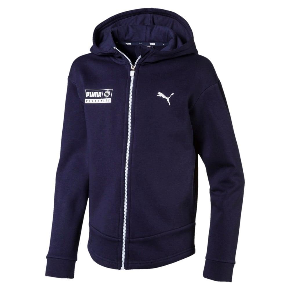 Зображення Puma Дитяча толстовка Alpha Graphic Sweat Jacket #1
