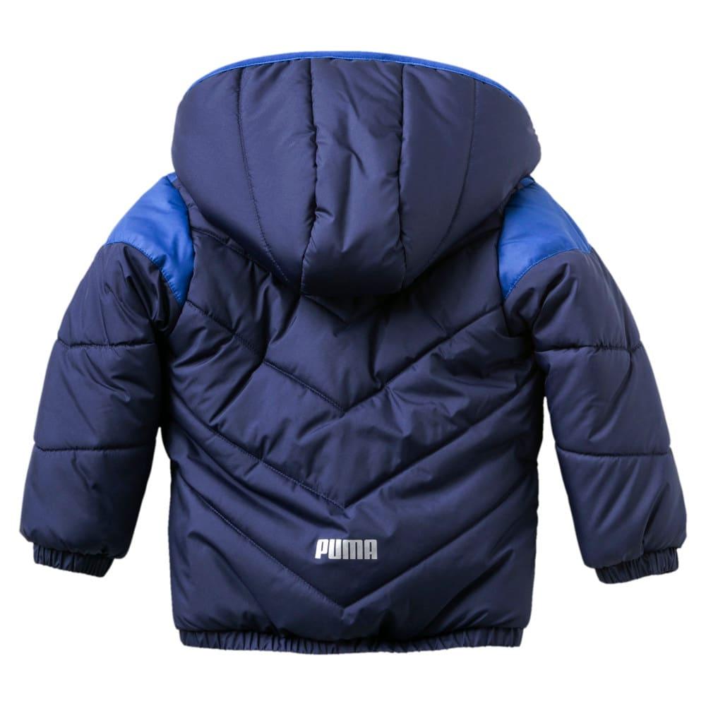 Изображение Puma Детская куртка Minicats Padded Infant Jacket #2: Peacoat