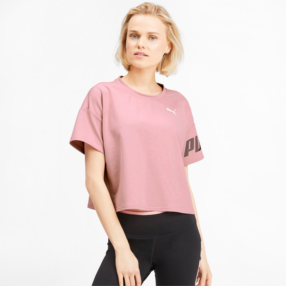 Изображение Puma Футболка Modern Sport Women's Sweat Tee #1