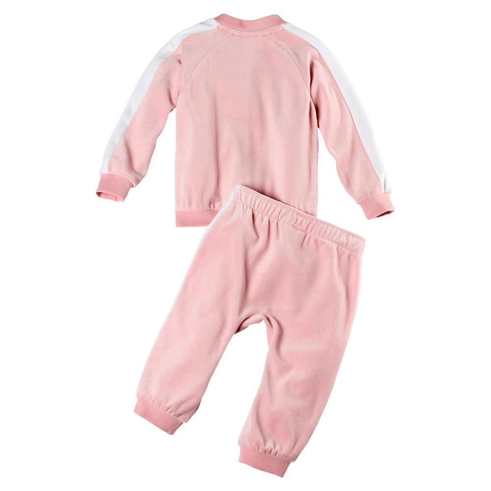 Image Puma Minicats T7 Velvet Babies' Track Jacket and Pants #2