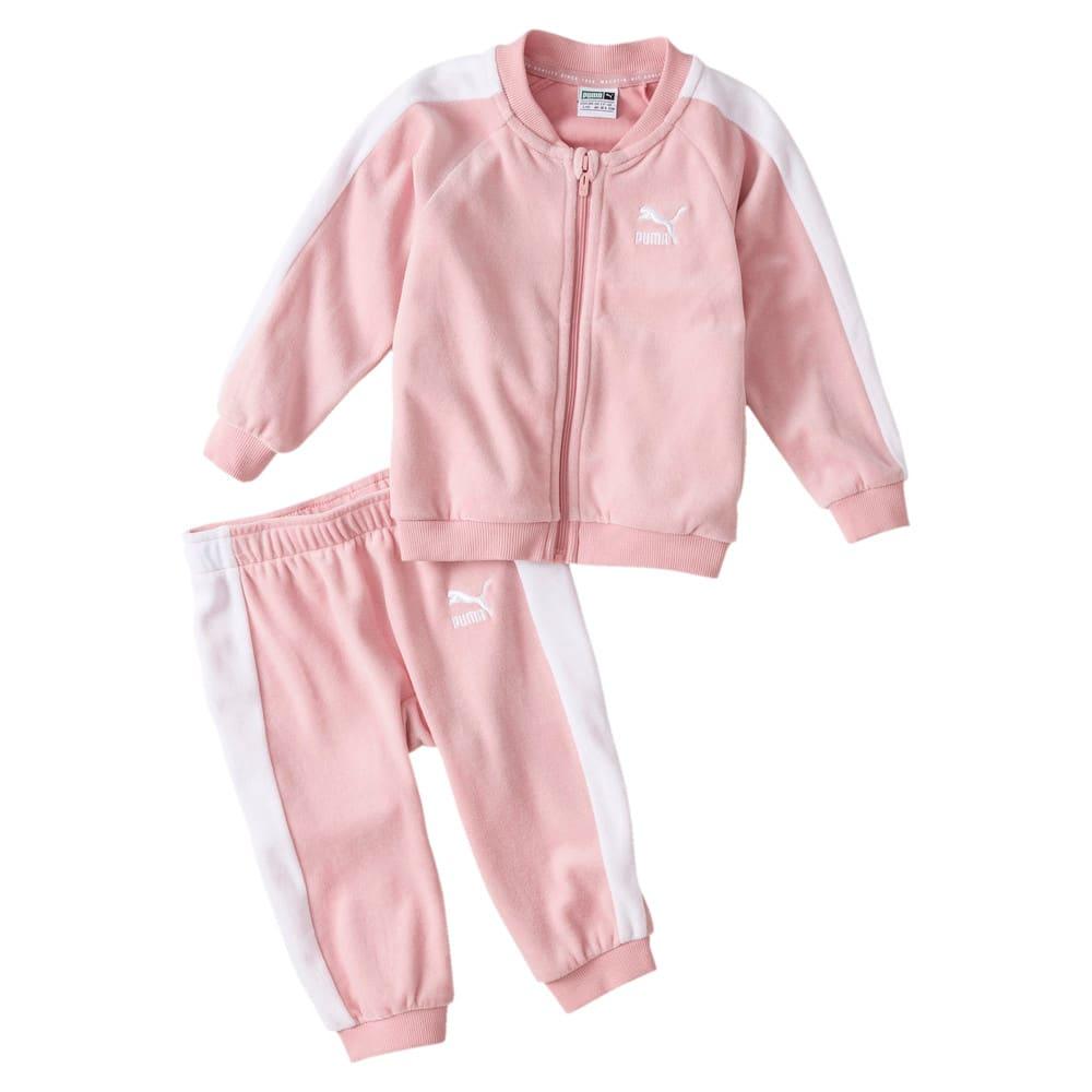 Image Puma Minicats T7 Velvet Babies' Track Jacket and Pants #1
