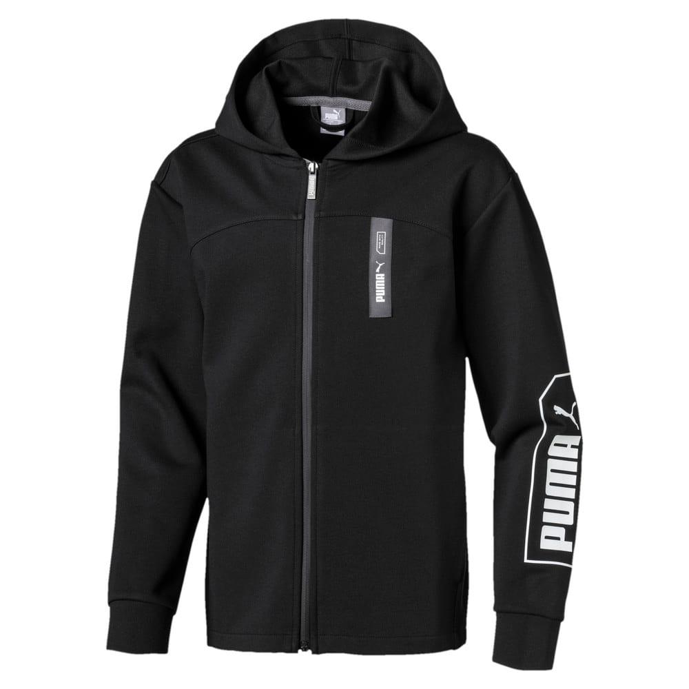 Image Puma NU-TILITY Hooded Boy's Jacket #1