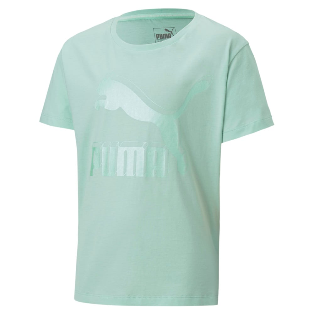Изображение Puma Детская футболка Classics Graphic Tee #1