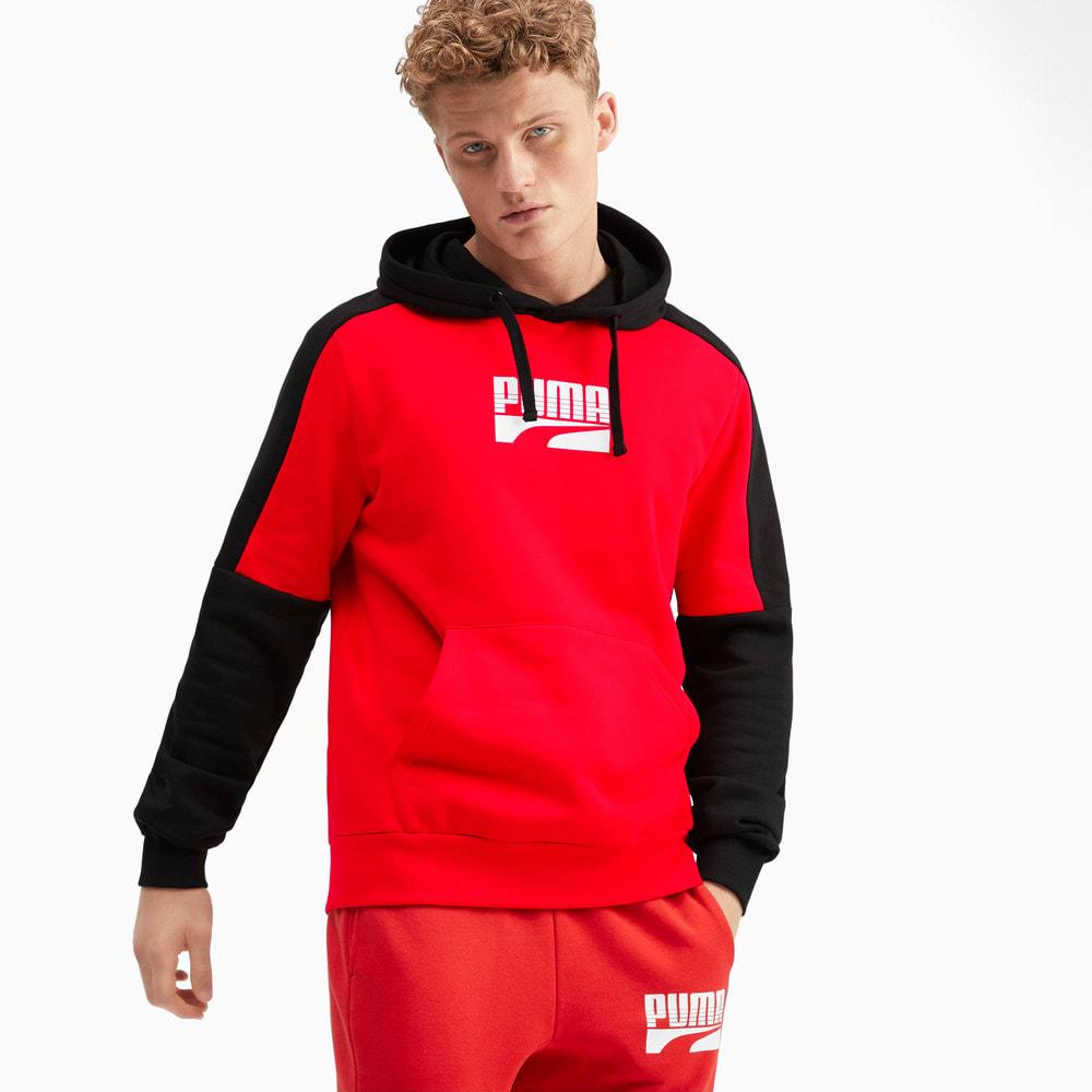 Зображення Puma Толстовка Rebel Block Full Length Men's Hoodie #1: high risk red